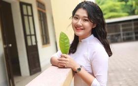 Nữ sinh Nghệ An xinh đẹp đạt 9.75 điểm môn Văn, được tuyển thẳng vào ĐH Sư phạm Hà Nội