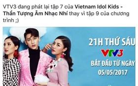 """Giám khảo và khán giả """"Vietnam Idol Kids"""" phản ứng khi nhà đài chiếu lại tập cũ"""