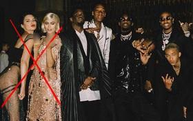 Kendall - Kylie bị Diddy cắt ra khỏi hình và trở thành đề tài hot nhất mạng xã hội