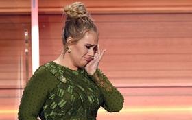 Grammy 2017: Adele khóc, làm Beyoncé và khán giả rơm rớm nước mắt khi nhận giải Album của năm