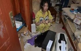 Căn phòng bẩn như bãi rác của nữ hacker 9X không tắm rửa, không ra khỏi cửa suốt 1 năm trời