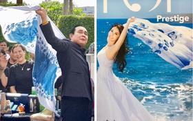 """Dân mạng thích thú với hình ảnh Thủ tướng Thái Lan Prayuth Chanocha """"thả dáng"""" chuyên nghiệp như người mẫu quảng cáo"""