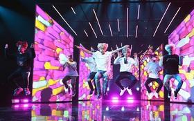 """Kpop fan """"náo loạn"""" trước loạt ảnh trên sân khấu American Music Awards của BTS"""