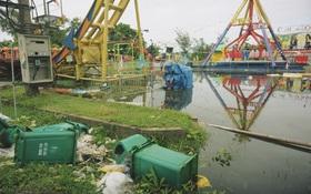 Chùm ảnh: Bãi tắm Cửa Lò tan hoang, thiệt hại nặng nề sau bão số 2