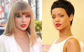 Tuổi chưa quá 30, Rihanna và Taylor Swift đã có nhiều hit lọt Top 10 Billboard hơn loạt đàn chị