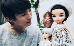 Chàng sinh viên Sài Gòn kiếm 30 triệu đồng/tháng với nghề lạ: Trang điểm cho búp bê