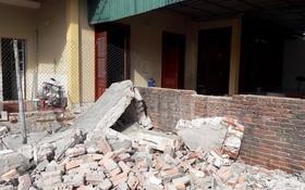 Sập tường của phòng giao dịch Ngân hàng, một người tử vong tại chỗ