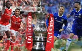 Đường đến trận chung kết FA Cup của Arsenal và Chelsea