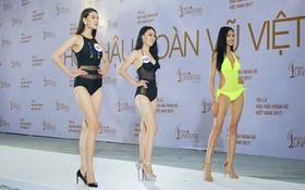 """Hoàng Thùy thi bikini tại """"Hoa hậu Hoàn vũ"""" cũng phải thật nổi bật!"""