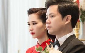 Toàn cảnh lễ rước dâu: Đặng Thu Thảo rơm rớm nước mắt bên ông xã Trung Tín