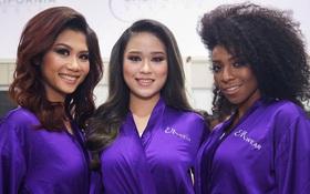 Không chỉ học tiếng Anh, thí sinh Hoa hậu Hoàn vũ VN cũng nên chăm sóc răng nữa!
