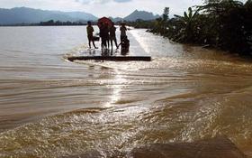 Hà Nội bác tin vỡ đê sông Bùi, một số vị trí chỉ do sạt lở, sụt lún nên bị tràn nước