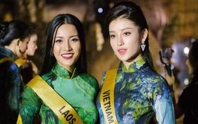 """Huyền My xinh đẹp đọ sắc cùng các thí sinh """"Miss Grand International"""" tại động Thiên Đường"""