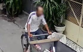 Trích xuất hình ảnh từ camera, truy tìm người đàn ông nhặt phế liệu giết bạn nhậu ở Sài Gòn