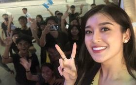 Clip: Được fan Phú Quốc nhiệt tình chào đón, Huyền My hạnh phúc gửi lời cảm ơn