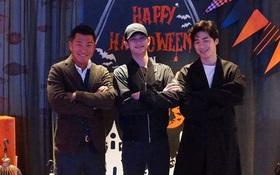 """Tài tử """"Vì sao đưa anh tới"""" Kim Soo Hyun đội mũ kín mít đi chơi trước khi nhập ngũ vào hôm nay"""