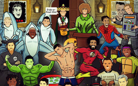 Messi, Ronaldo và các sao bóng đá nên hóa trang thành ai trong đêm Halloween?