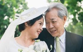 Bộ ảnh cưới đầu tiên sau 45 năm kết hôn và chia sẻ xúc động của cựu CEO Uber Việt Nam cho bố mẹ