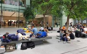 Mở bán iPhone X: Singapore và Úc la liệt người xếp hàng, thậm chí rao bán chỗ cho ai có nhu cầu
