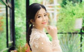 """Hot girl Vì yêu mà đến tỏ tình thành công: """"Mình và anh Quang Bảo hạn chế gặp mặt nhưng luôn tạo bất ngờ"""""""