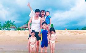Vợ chồng Lý Hải - Minh Hà hạnh phúc kỉ niệm 7 năm ngày cưới bên 4 nhóc tỳ siêu đáng yêu