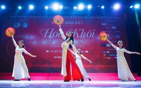15 gương mặt đầu tiên xuất hiện trong vòng Chung kết Hoa khôi Sinh viên Việt Nam 2017 đã lộ diện