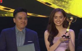 """Lần đầu tiên đóng phim, Kaity Nguyễn """"ẵm"""" luôn giải Nữ chính xuất sắc nhất tại LHP Việt Nam"""