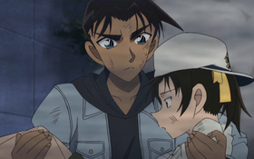 """Phần phim mới của Conan úp mở tình đầu giữa Kazuha và """"anh da đen"""" Hattori?"""