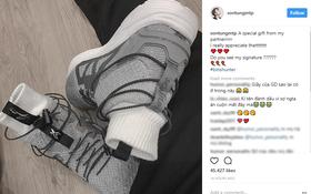 Đôi sneaker mới toanh Biti's vừa làm riêng tặng Sơn Tùng M-TP giống giày adidas đến bất ngờ