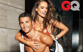 """""""Thiên thần"""" Alessandra Ambrosio muốn hôn Ronaldo, cưới Neymar"""