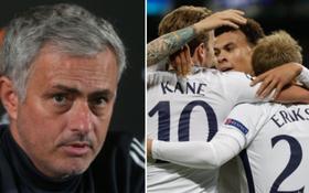 Mourinho châm chọc Tottenham khiến fan Man Utd khoái chí