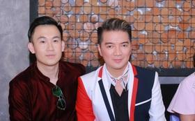Mặc trời nóng, Đàm Vĩnh Hưng và Dương Triệu Vũ vẫn ra Hà Nội ủng hộ phim của cháu gái