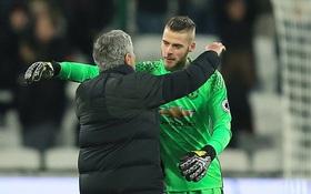 Mourinho không muốn De Gea tiếp tục nhận giải Cầu thủ hay nhất năm của Man Utd