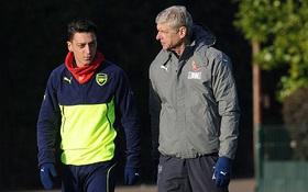"""Mesut Ozil: """"Sa thải Wenger thì tôi cũng đi"""""""
