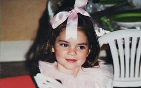 Kendall Jenner chứng minh nhan sắc xinh đẹp tự nhiên từ thời thơ bé