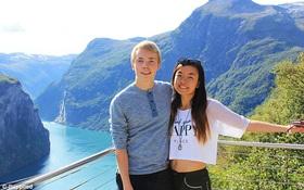 Từ hai nửa thế giới, cặp đôi hẹn hò qua Twitter rồi cùng nhau đi du lịch vòng quanh thế giới