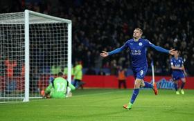 Leicester vùi dập Liverpool ngay sau khi sa thải HLV Ranieri
