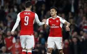 Trút giận lên đội bóng hạng 5, Arsenal thẳng tiến tới Wembley