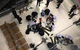 Thái Lan: Nam du khách ngoại quốc nhảy từ thang cuốn tầng 4 của sân bay xuống đất tự tử