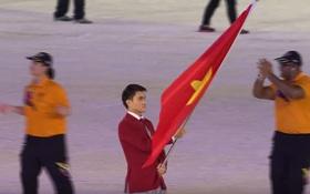 TRỰC TIẾP lễ khai mạc SEA Games 29: Vũ Thành An dẫn đầu đoàn TTVN