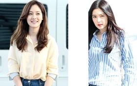 Nữ thần Kpop hai thế hệ đọ sắc: Sung Yuri U40 vẫn trẻ trung, Irene kém 10 tuổi cũng lép vế
