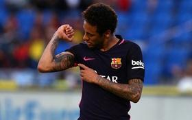 Neymar lập hat-trick, Barca vẫn nằm cửa dưới trong cuộc đua vô địch