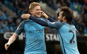 Hạ West Brom, Man City cần thêm 1 điểm để dự Champions League