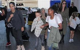 Angelina Jolie gây tranh cãi khi đưa các con rời xa Brad Pitt vào đúng Ngày Của Cha