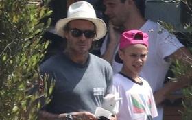 Beckham trông kém vui, Victoria không đi ăn cùng gia đình giữa tin đồn vợ chồng rạn nứt