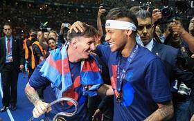 Messi làm video đầy xúc động chia tay Neymar