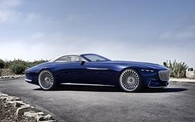 Ngắm xem siêu xe mui trần chạy điện Mercedes Maybach 6 Cabriolet có gì đẹp