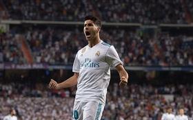 Không Ronaldo, Real chật vật hòa Valencia trên sân nhà Bernabeu
