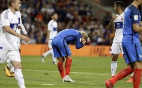 """Đội hình hơn 400 triệu bảng của Pháp bất lực trước """"tí hon"""" Luxembourg"""