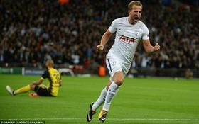 Harry Kane lập cú đúp, Tottenham thắng đậm Dortmund